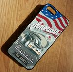 KOOLART AMERICAN MUSCLE Retro 72 CHEVY NOVA SS Hard Case For Apple iPhone 5 & 5s